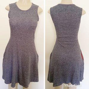 Maison Jules Fit & Flare T-shirt Dress Size Small